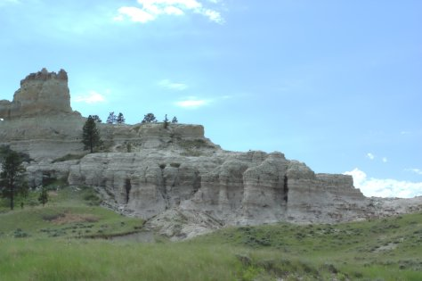 North half of Capitol Rock.  Image credit: Bill Mitchell (CC-BY).