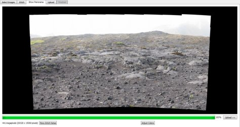 Processing the Azorella Peninsula gigapan.  Image credit: Bill Mitchell (CC-BY).