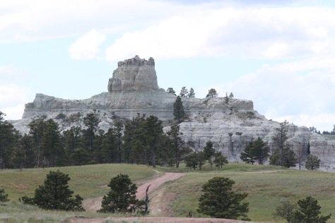 Wide view of Capitol Rock from the east.  Image credit: Bill Mitchell (CC-BY).